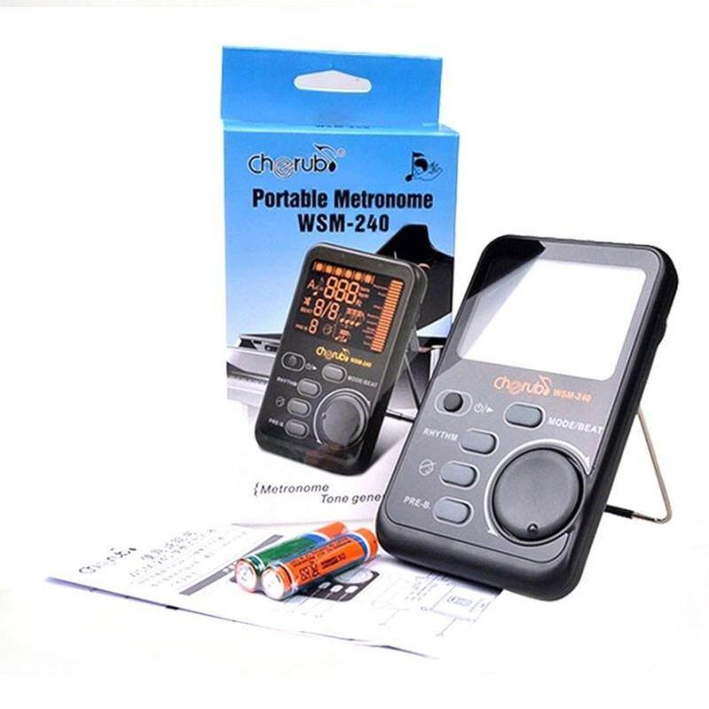 OSMAN Cherub Drum Universal Electronic Metronome Metro-Tuner Rhythm Device WSM-240