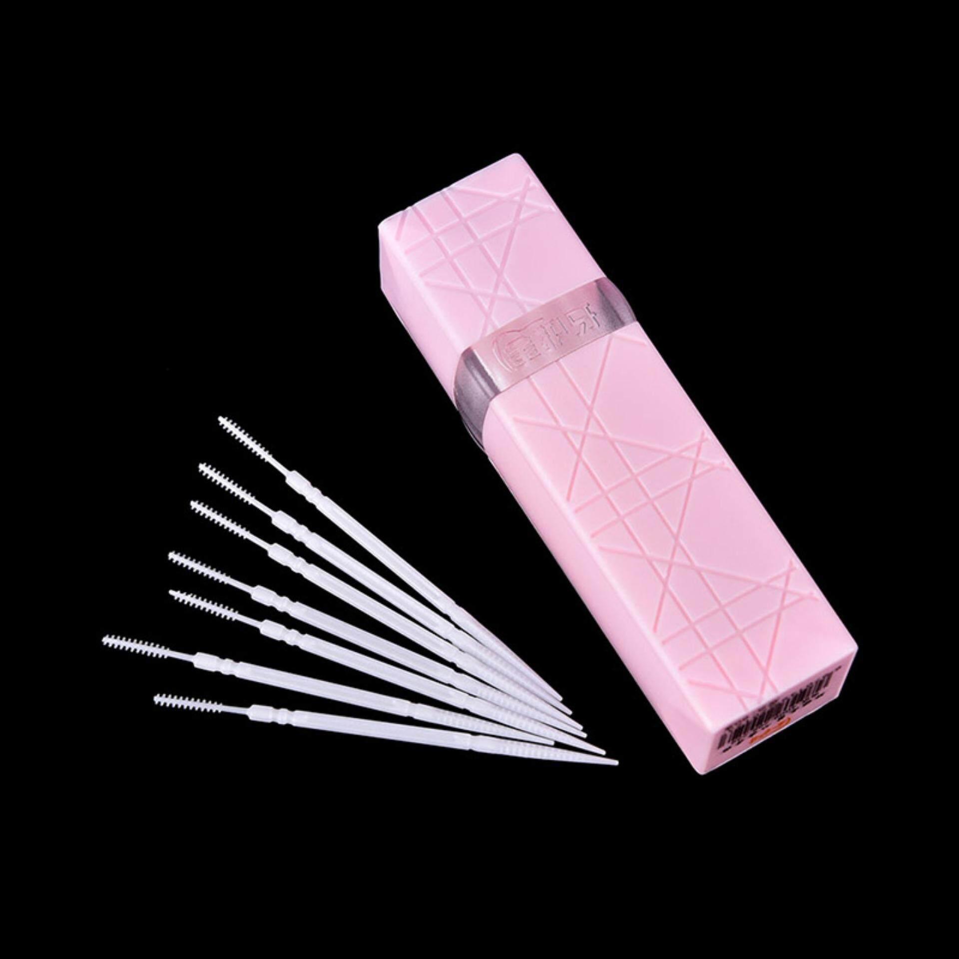 Plastik Tusuk Gigi Kebersihan Mulut 2 Way Sikat Antargigi Gigi Pick e0a974d98f