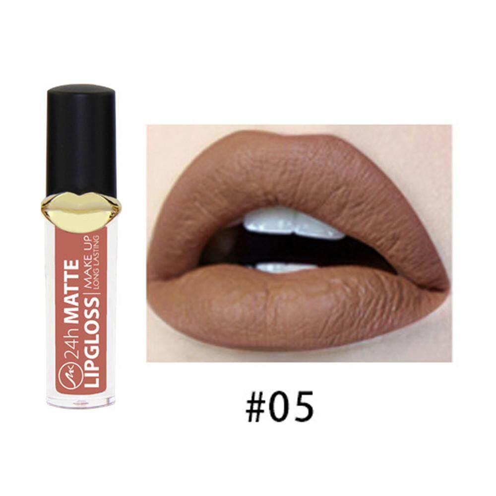 Vernonstore Tahan Air Double Cair Matte Lipstik Metalik Tongkat Tahan Lama Pelembap Bibir C