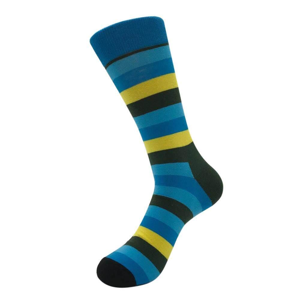 06bef5cf77cdb HU NAN SHOP Unisex Casual Cotton Socks Fashion Striped Mens Women Socks