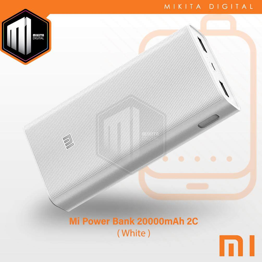 Features 2 Output Port Original Slim New Xiaomi Powerbank Gen2 10000 Mah 2c 20000 Fast Charge Quick Charging Dual Usb Xiao Mi Qc3