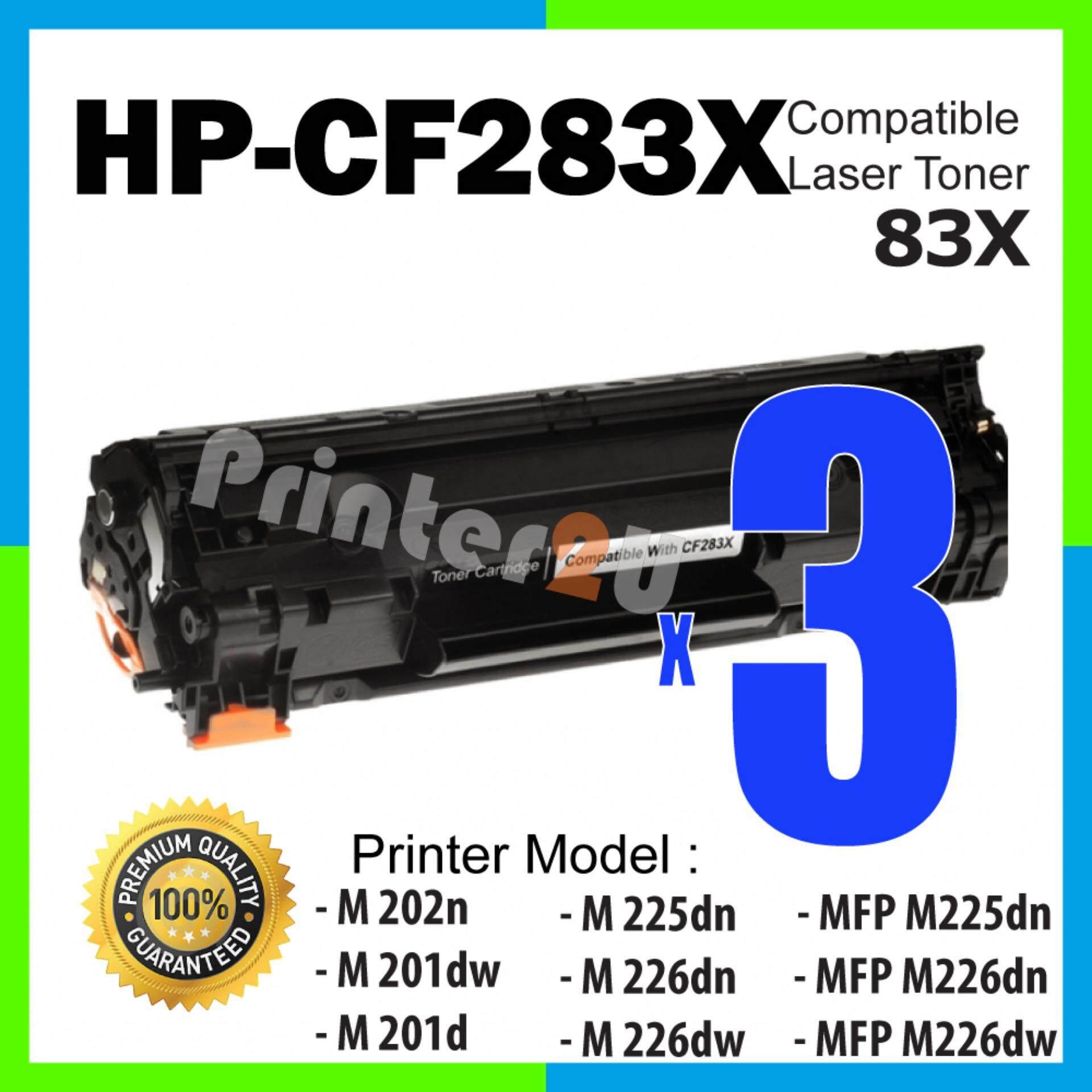 Features 2 Unit Hp Cf283a 283a 83a High Quality Compatible Toner Cartridge Laserjet Mfp M125 M127fn 3 Units Laser Cf283x 83x Cf283 283x Color Pro M202n