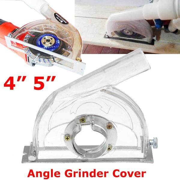 """Cutting Dust Shroud Grinding Cover for 4-5  Angle Grinder & 3""""/4""""/5"""" Saw Blades"""