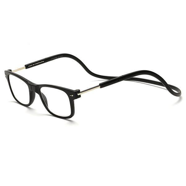 956f7ec9ee5 350 Degree Men Women Magnet Hanging Neck Reading Glasses Colorful  Adjustable Magnetic Front Presbyopic Glasses