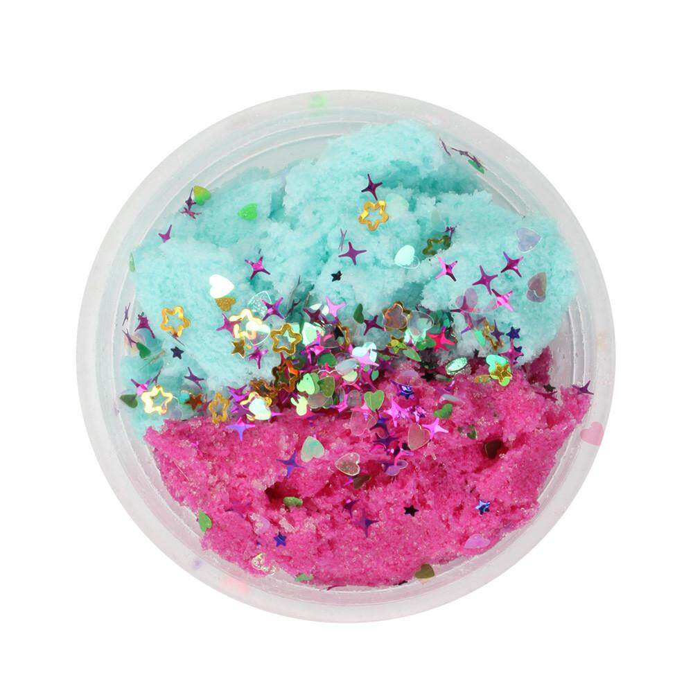 Colorful Mixing Cloud Cotton Candy Slime Squishy Scented Stress Kids Clay Toy