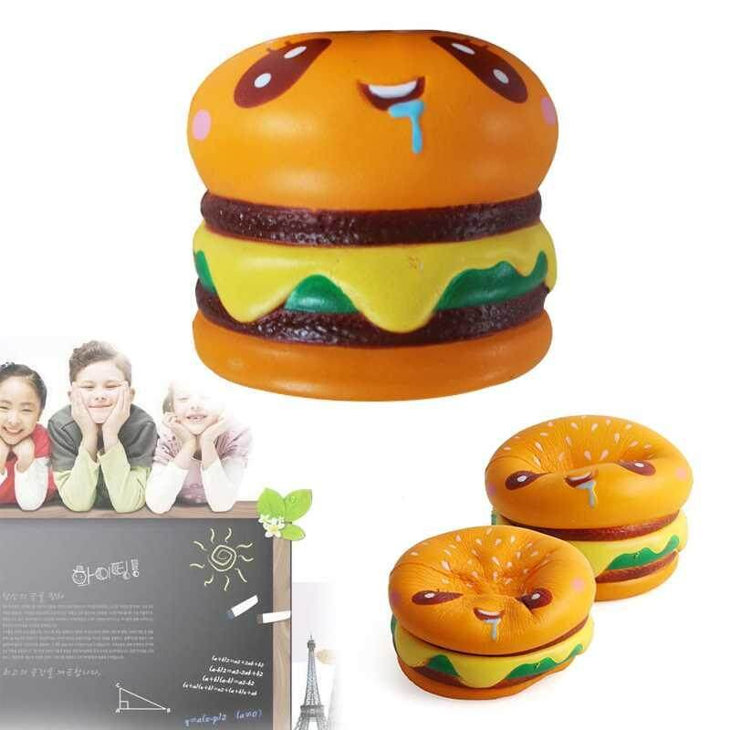 yiuu Simulated bread Slow Rebound Help Finger Treatment Soft Toys - intl