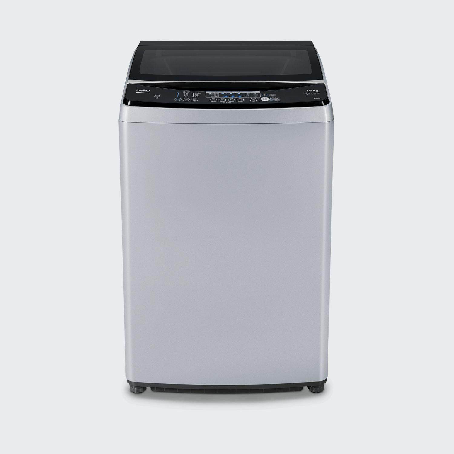 Beko (MADE IN EUROPE) 18KG Direct Drive LED Display Stainless Steel Top  Load Washer