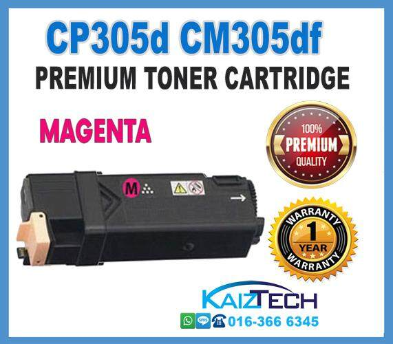 Fuji Xerox Magenta CP305 / CP305d / CM305 / CM305df / CT201634 High Quality Compatible Toner Cartridge
