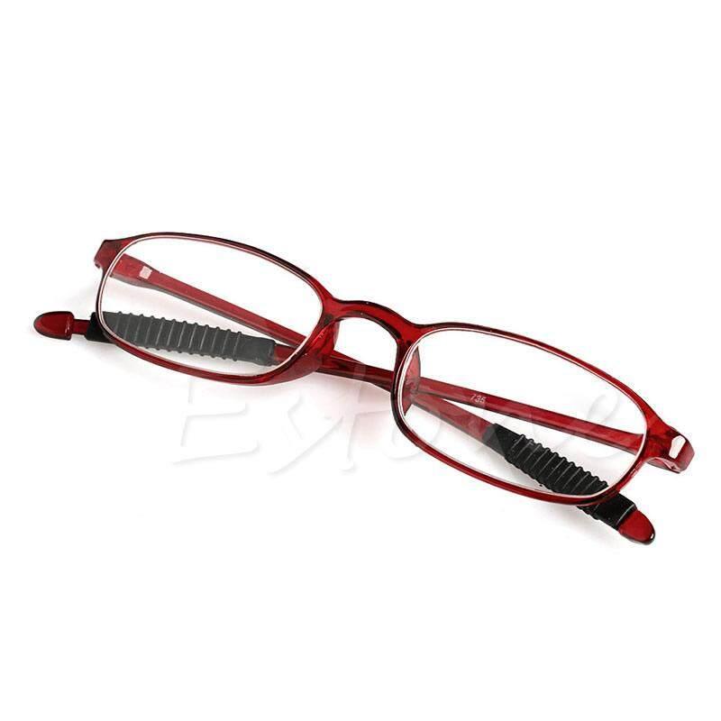 TR90 Wanita Pria Kacamata Baca Fleksibel Pembaca Kekuatan Kacamata Presbiopi-Intl