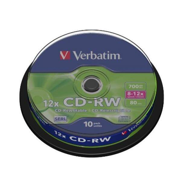 Blank Media Verbatim DataLifePlus - 10 x CD-RW - 700 MB 8x - 10x - storage media - intl
