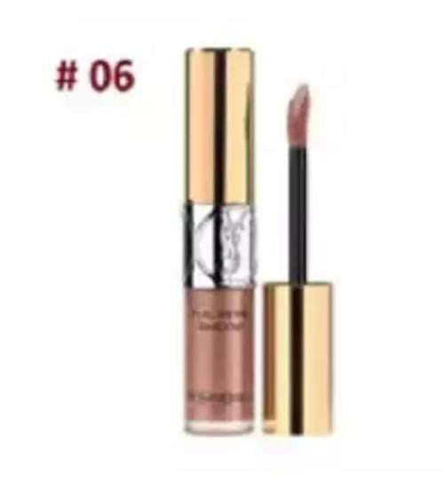 BRANDED FULL METAL EYE SHADOW STEAMY PINK CASCADE 06 WITH FREE LIP LINER