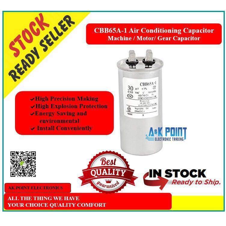 Air Conditioning Capacitor / Machine 30uf Capacitor