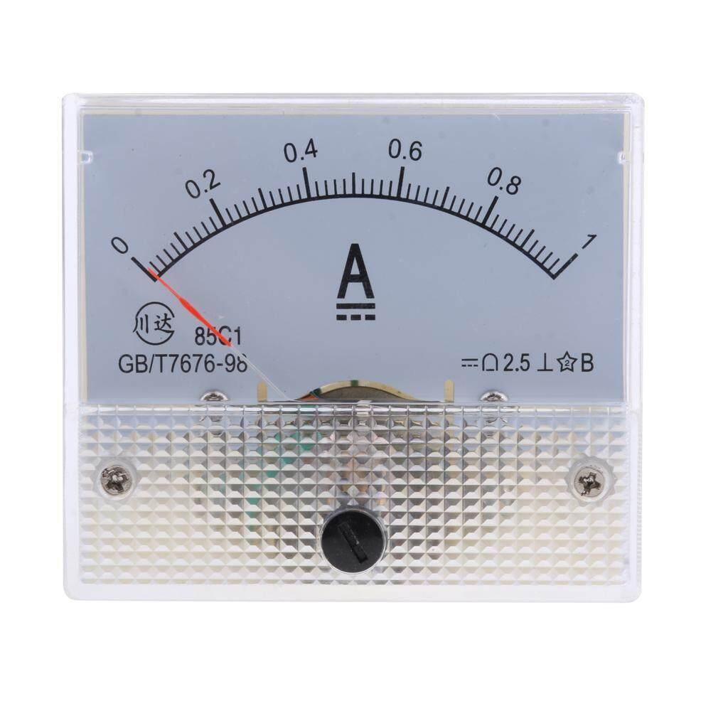 MagiDeal DC Ammeter Analog Panel Meter Amp Meter Current Gauge Pointer Type 0-1A