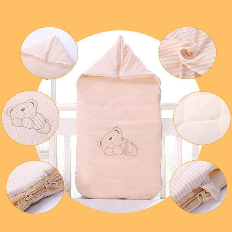 Hình ảnh lagobuy Cotton Envelopes Sleeping Bag Baby Bedding Accessories For Newborn Baby