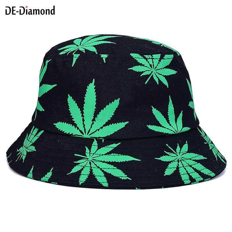 3d0e8de9e57 DE Men Women Bucket Hat Cap Sunhat Spring Summer Panama For Fisherman Beach  Outdoor