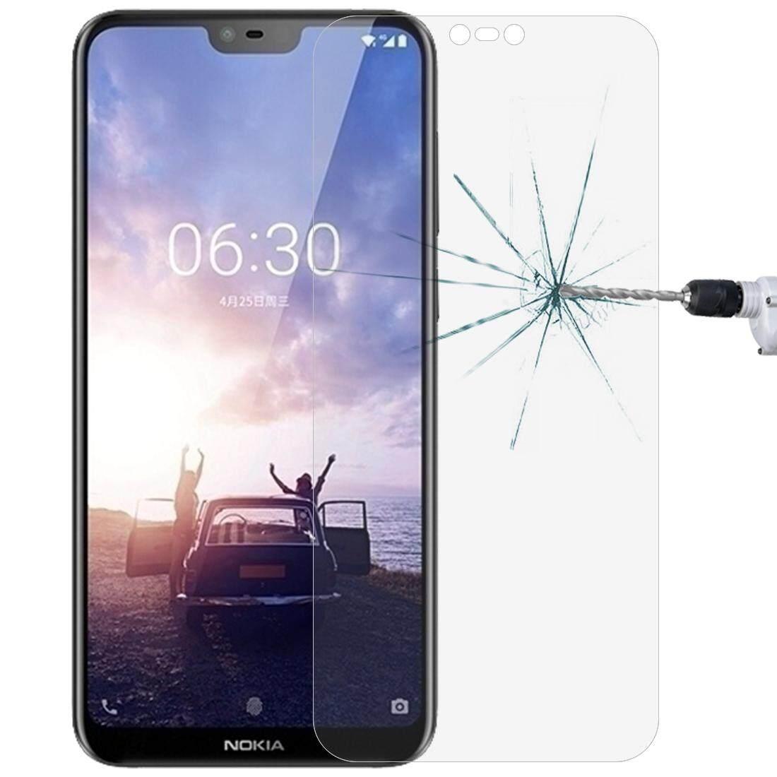 0.26 Mm 9 H 2.5D Kaca Antigores Film untuk Nokia X6