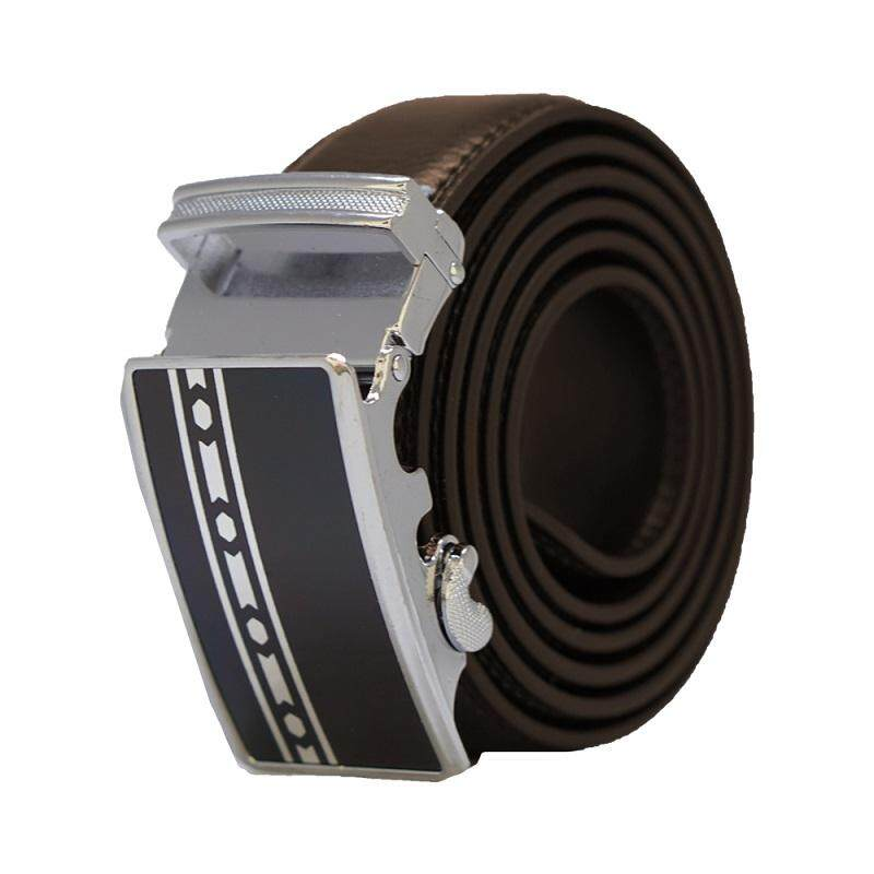 A59 High Quality Original Men Calf Skin Business Men Automatic Leather Belt - Adjustable Strap for Size M , L