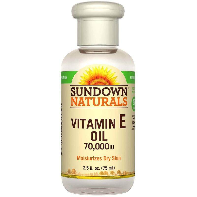 [100% ORIGINAL] Sundown Vitamin E Oil 70000 IU, 2.5 fl oz