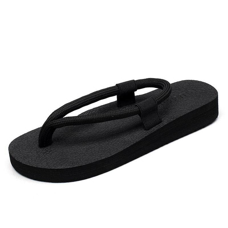 fashion women flip flops shoes sandals for lovers beach non-slip flat sandals shoes flip flops casual sexy Vietnam style men shoes 183 - intl