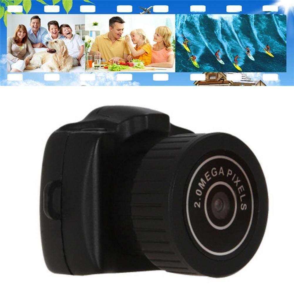 Jual Kamera Mini Spy Cam Kacamata Slot Micro Sd Camera Pengintai Mata Y2000 Super Video 720p Dvr Sports Invisible Camcorder