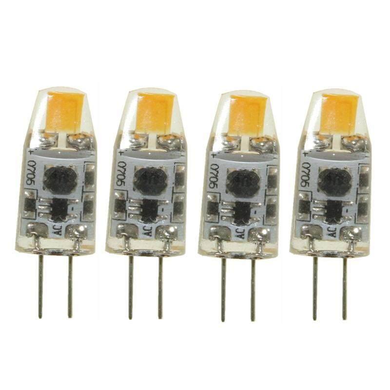 4Pcs G4 COB LED Bulb 1W (10W Halogen Bulb Replacement)  AC/DC 12 Volt  Not Dimmable Daylight White Singapore