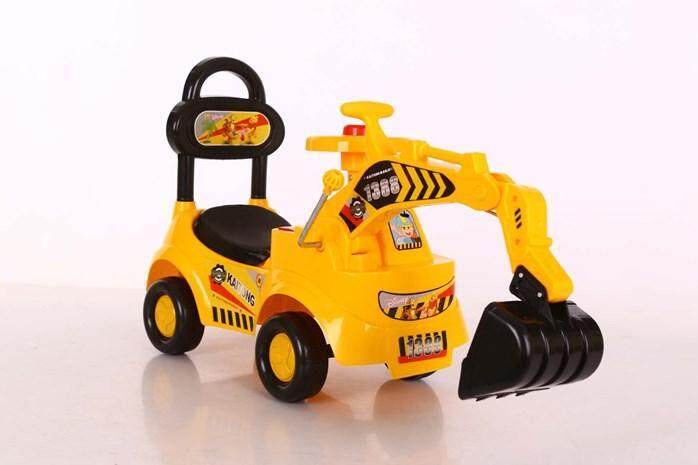 Children Kids Ride On Excavator Digger Pretend Play Construction Truck Toy