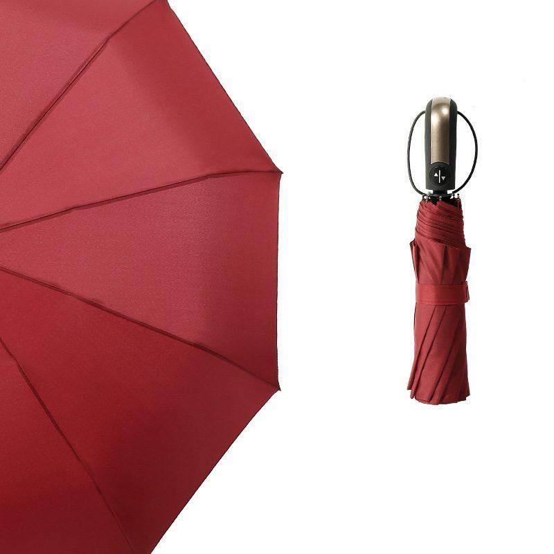 Jomoo Store Wind Resistant Folding Automatic Umbrella Male Auto Luxury Big Windproof Umbrellas For Men Rain Black Coating - Intl By Jomoo Store.