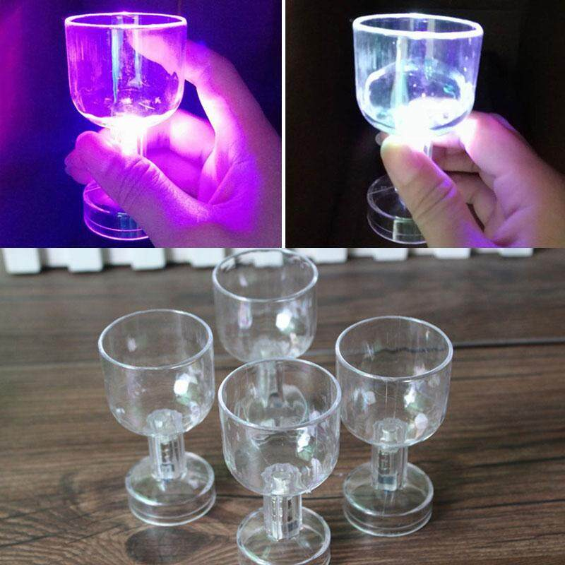 Bellamall Luminous LED Wine Cup Beer Glass Night Light For Bar Wedding Party Supply