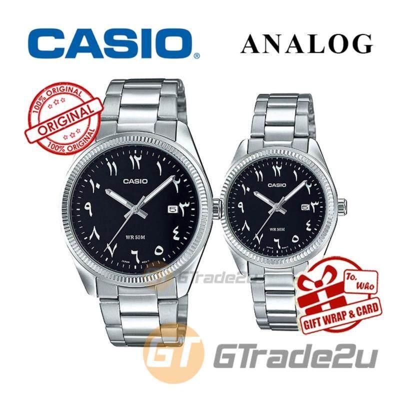 CASIO MTP-1302D-1B3 & LTP-1302D-1B3 COUPLE WATCH  ARABIC NUMERALS Malaysia