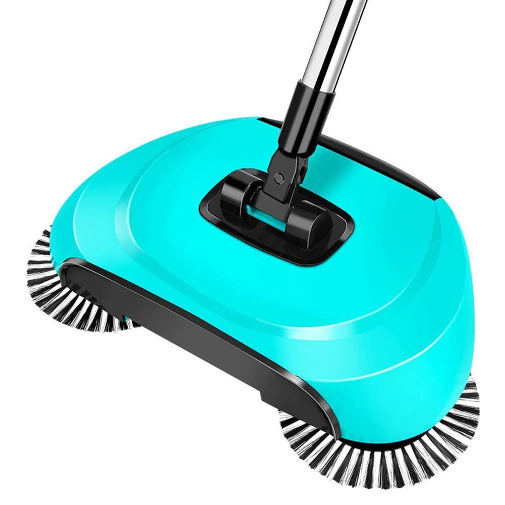 Hand Push Type Sweeping Machine Handhold Magic Broom Dustpan Mop Household Cleaning Tool - intl