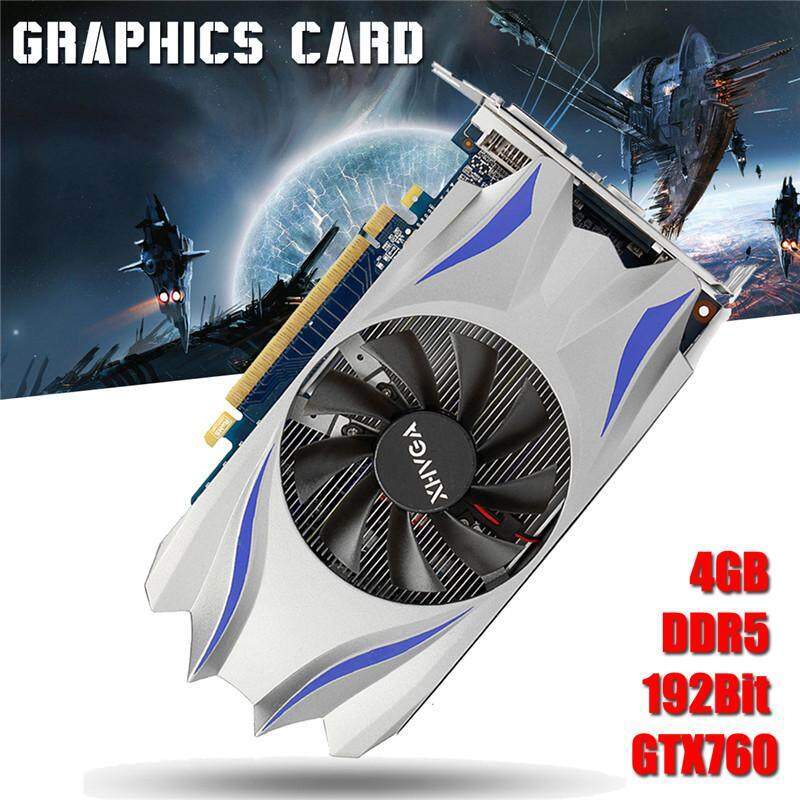 Hình ảnh GTX760 4GB DDR5 192Bit Game Graphics Card With Cooling Fans Durable For NVIDIA