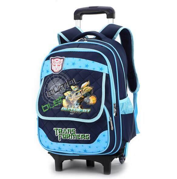Trường Tiểu Học Trolley Bag Trẻ Em Rời Backpack RTO5