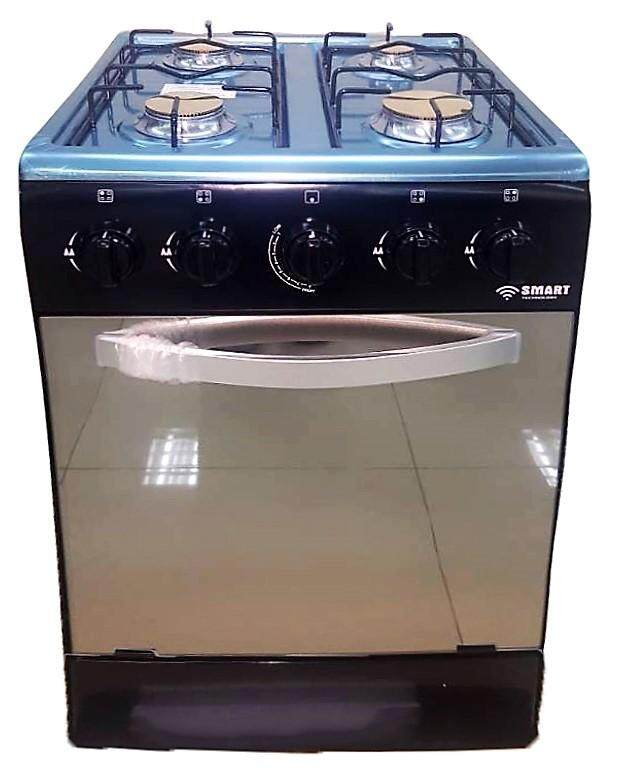 FREE STANDING GAS COOKER Black