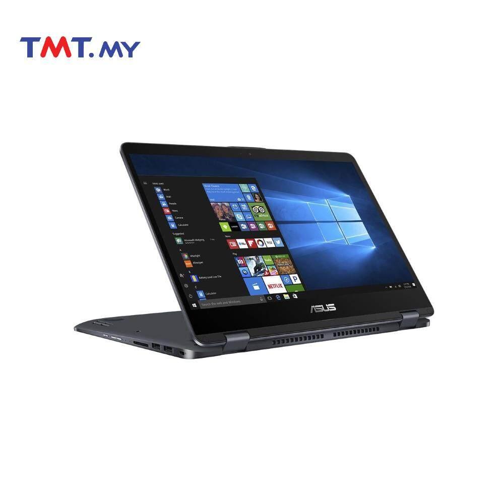 Asus Vivobook Flip 14 TP410U-FEC026T Laptop | i5-8250U | 4GB | 1TB |14.0FHD Touch | NVD MX130 | W10 - Grey Malaysia