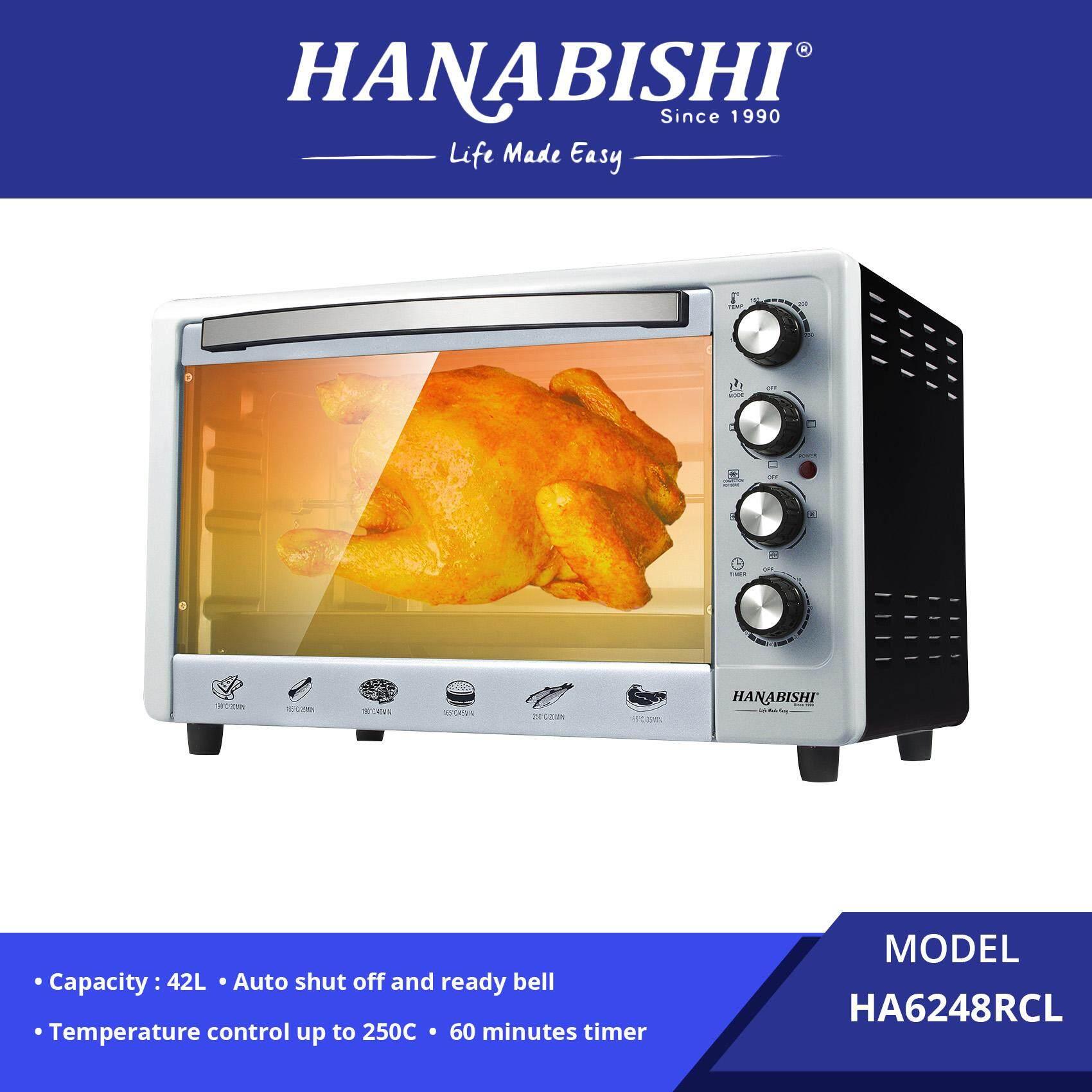 Hanabishi Electric Oven 48L (Rotisserie & Convection) HA6248RCL