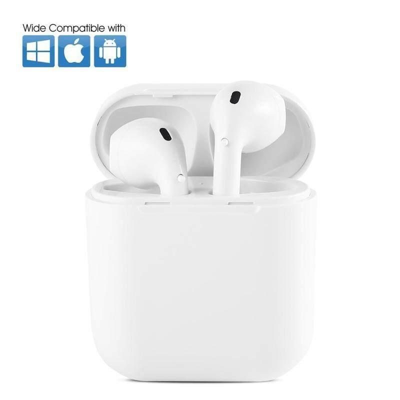 niceEshop Mini I8x TWS Earbuds Headphones Headsets Earphones With Charging Box For IP Hone 8, 8 Plus, X, 7, 7 Plus, 6s, 6S Plus - intl Singapore