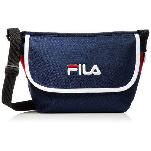 FILA LOGO SHOULDER BAG MEN'S WOMEN'S SHOULDER BAG FM2063NVY ...