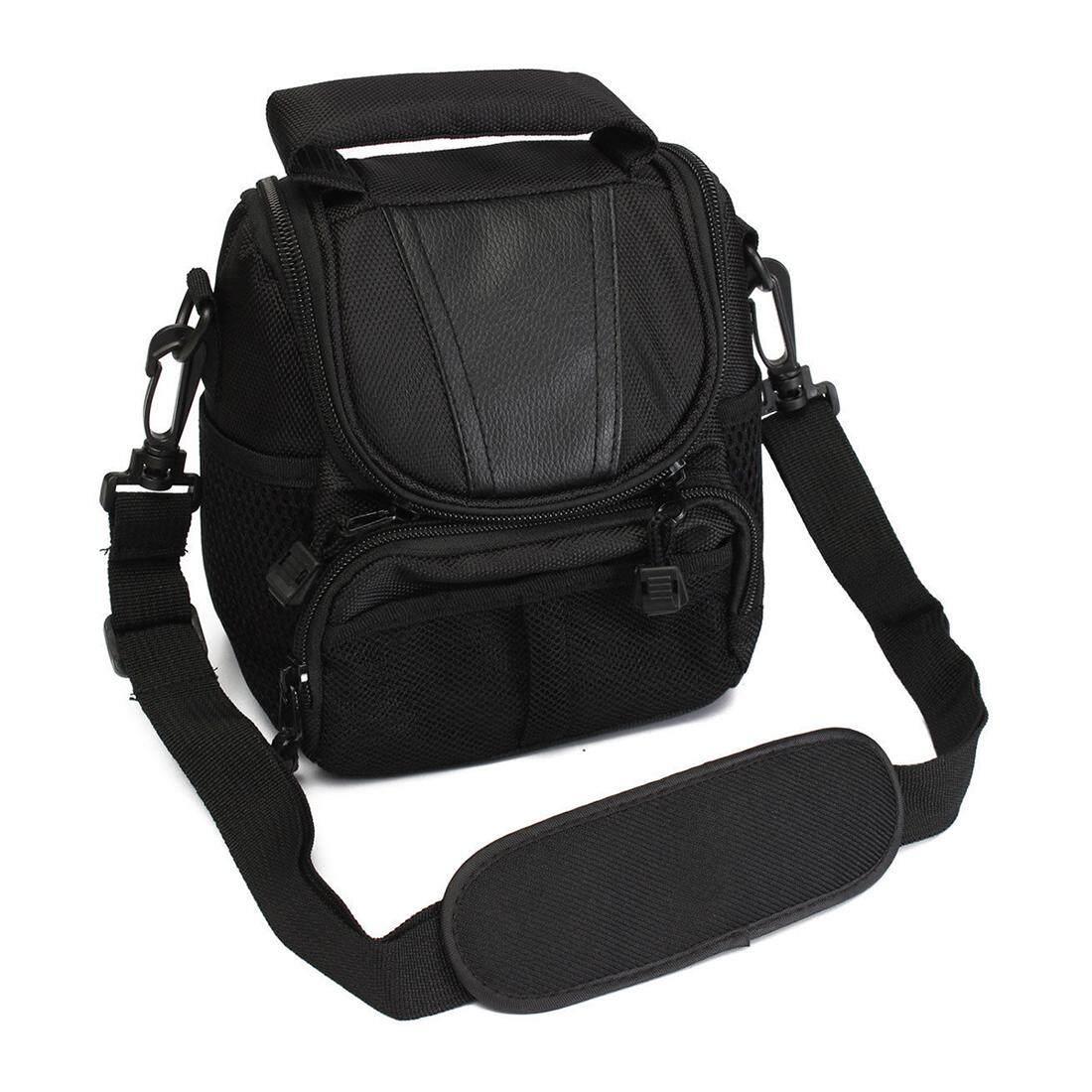 Kecil Nilon Kamera Tahan Air Tas Bahu Sarung Tas Tangan untuk Nikon Canon SLR DSLR