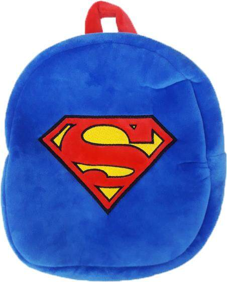 Justice League Superman Logo Plush Backpack