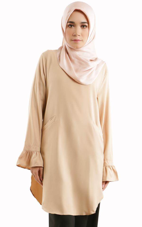 JF Fashion Sella Tier Bell Sleeve Blouse F404