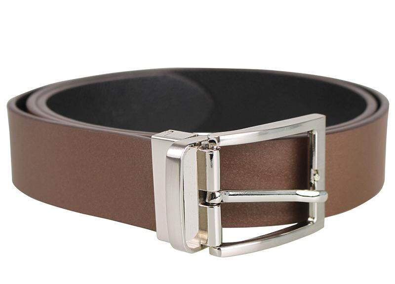 Tomaz NT38 Leather Belt (Coffee)
