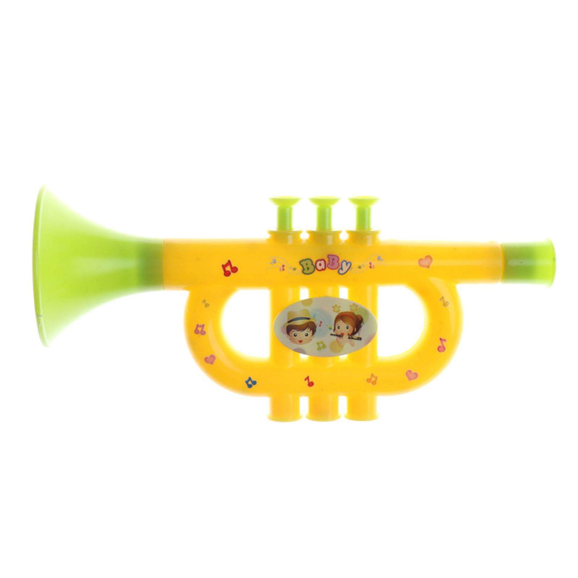 Plastic Trumpet Musical Instruments For Children Baby Kids Musical Toys