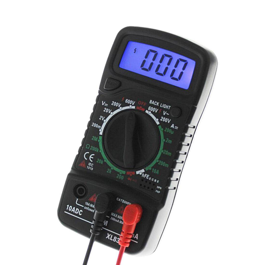 Detail Gambar Digital Multimeter Tester with LCD Backlight Display AC/DC Voltmeter Resistance Current Volt Ohm Tester Meter - intl Terbaru