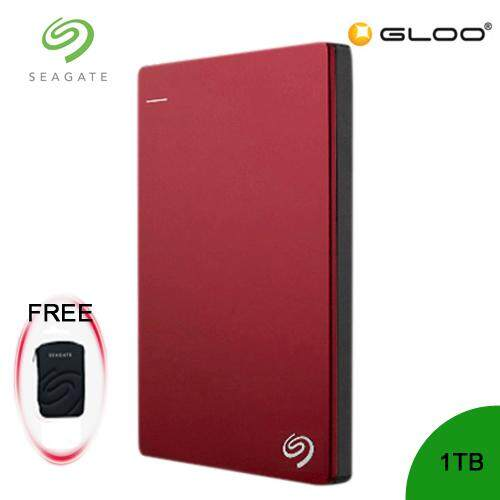 Seagate Backup Plus Portable Drive 1TB - Red STDR1000303 FREE Hard Pouch Casing [Purchase on 3rd-16th Sept 2019 and Get complimentary RM10 Aeon voucher + RM 20 Starbucks Card *while stocks last]