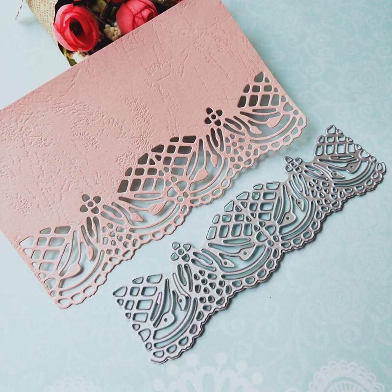 Metal Cutting Dies Lace Edge Frame Background Gate punch Mold DIY Scrapbook Paper Craft Card album