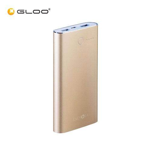 Energea Alupac Li-Polymer 10000mAh Power Pack Gold Duo USB 3.1A 6957664408687