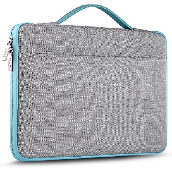 ZINZ Laptop Sleeve for 13-13.3 Inch MacBook Air MacBook Pro Retina Late 2012 - Early 2016  Most 14 Inch Dell/Ausu/Acer/HP/Toshiba/Lenovo,Spill-Resistant Laptop Bag Case Cover - Gray