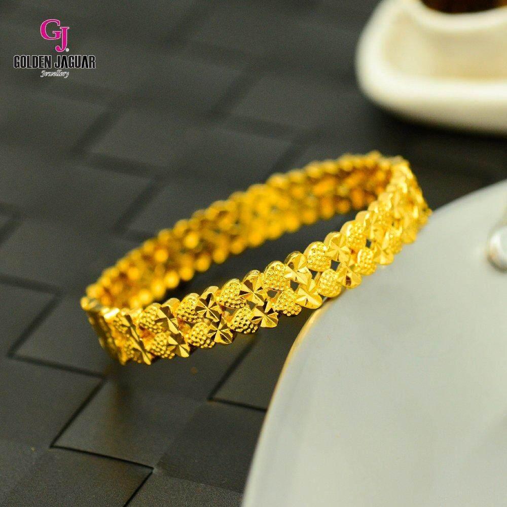 Emas Korea Golden Jaguar Bangle (GJJ-59695)