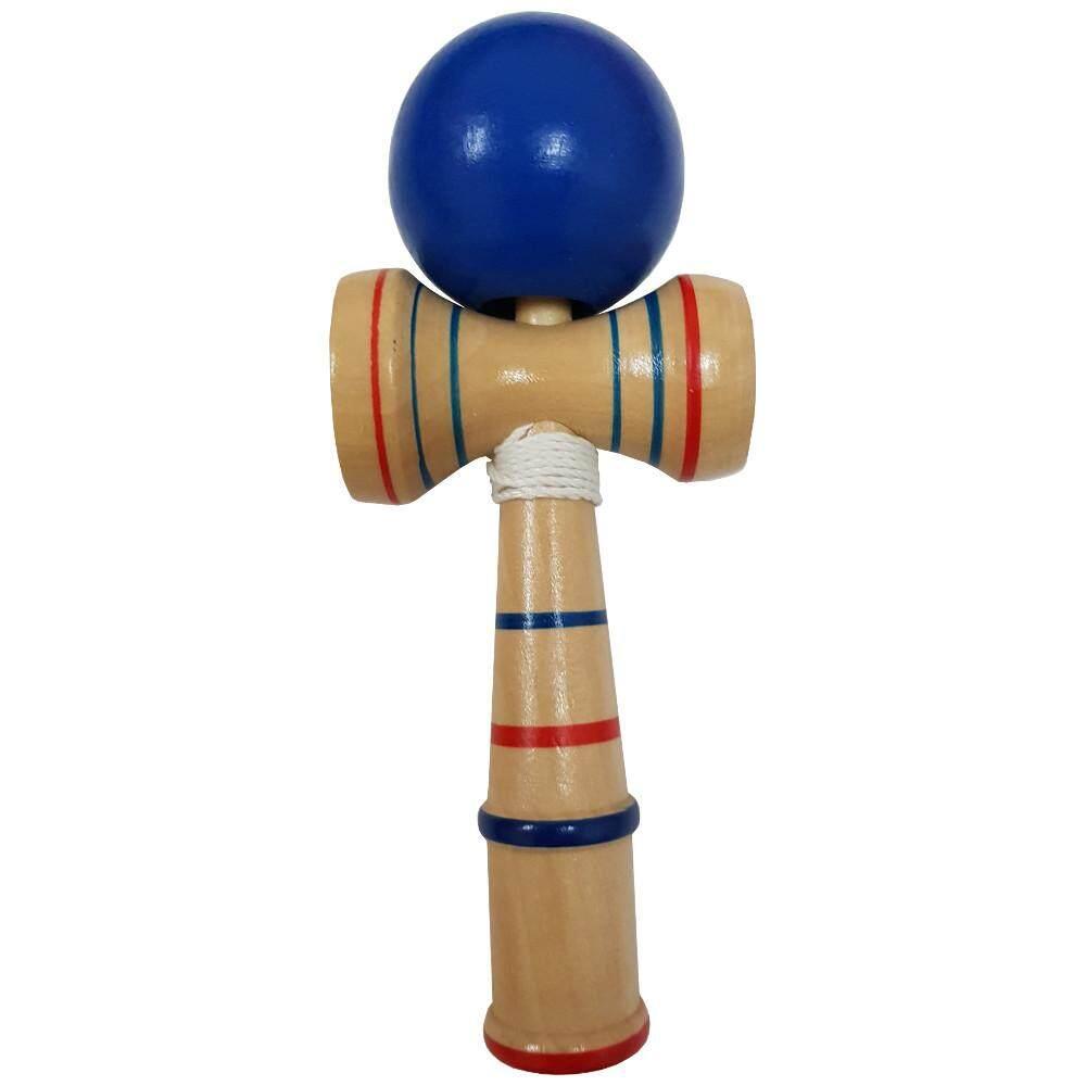 Wooden Kendama Skilful Juggling Ball Game Toy (Blue)