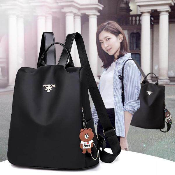 Anipopy Backpack Purse for Women Small Fashion Nylon Travel Bag Shoulder Daypack Anti Theft Waterproof